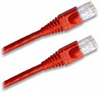 Cat 5E Patch Cable, Snagless, Orange,  7 FT