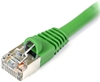 Cat 6 Shielded Patch Cable, Snagless, Green, 10 FT