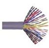 Bulk Cable, Cat 3, 100 Pair 24 AWG UTP Solid PVC Gray  / 500 FT