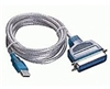 USB To IEEE-1284 Parallel Printer Adapter Cable / 6 FT