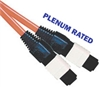 Fiber Optic Cable, OM1, MTP, Plenum, 12 Fiber, 62.5/125, Multimode, 15 Meter
