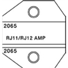 1300/8000 Series RJ11/RJ12, 2,4,6 -Wire  Amp Die Set