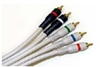 Deluxe Component Video With 2 Audio Cables, 3 FT.