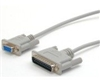 D9F/D25M Printer Cable, 25FT