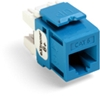 Quickport Extreme 6+ Cat 6 Jack, Blue