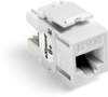 Quickport Extreme 6+ Cat 6 Jack, White