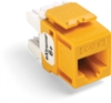 Quickport Extreme 6+ Cat 6 Jack, Yellow