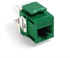 Quickport Extreme 6+ Cat 6 Jack, Green 25 Pack