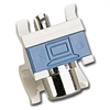 Max RCA Connector Module, Angled White
