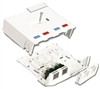 Max Surface Mount Box, 6 Port White