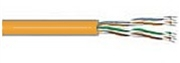 Bulk Cable, Cat 6, 4 Pair, 600-MHz Stranded, Datamax 6 Orange / 1000 FT