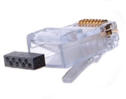cat 6 wiring diagram 5e cat 6 wiring diagram with load bar sentinel, 111-08080054l34, cat 6 rj45 plug with conductive ...