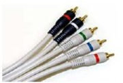 Deluxe Component Video With 2 Audio Cables, 6 FT.