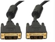 DVI-I Digital/Analog Video Interconnect Cable, M/M, 10 FT