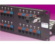 Max 24 Port Patch Panel, Modules Sold Separately